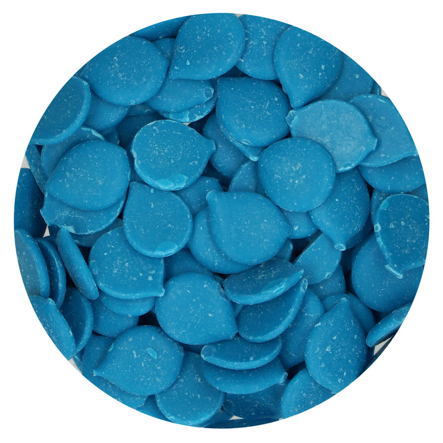 FunCakes Deco Melts -blue blauw- 250g-2