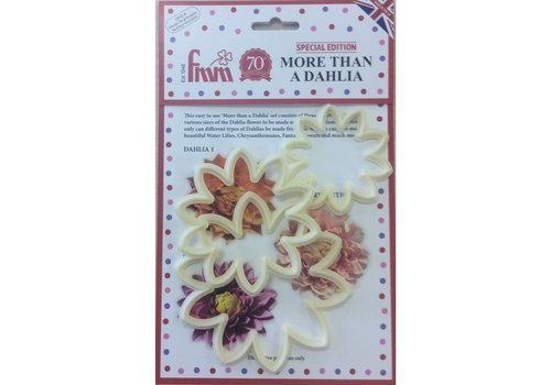 FMM Dahlia Bloemen Uitsteker Set/3