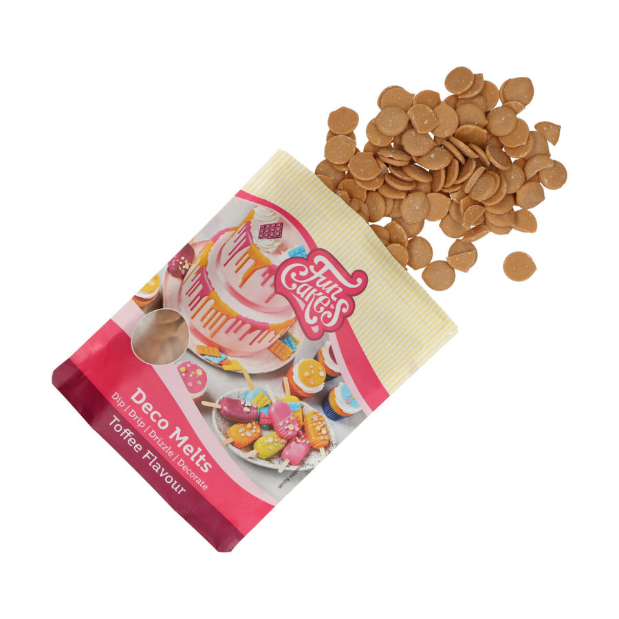 FunCakes Deco Melts Toffee Smaak 250g-1
