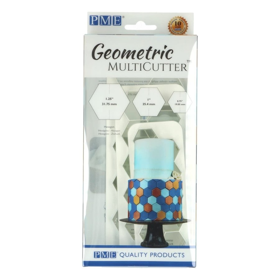 PME Geometric Multicutter Hexagon Set/3-1