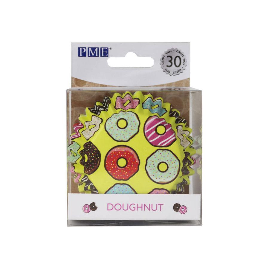 PME Folie Cupcakevormpjes donuts  pk/30-1