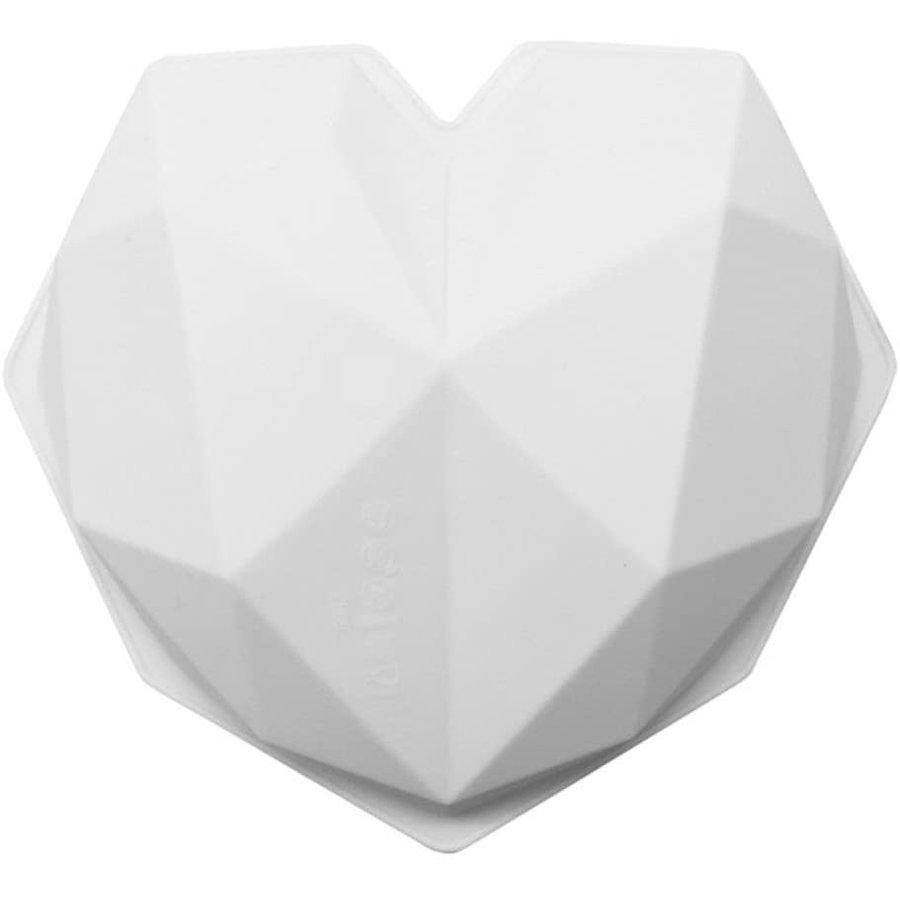 Geometrische smash hart Mould xl-2