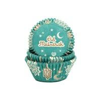 House of Marie Baking Cups Eid Mubarak pk/50