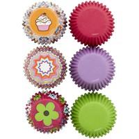 thumb-Wilton Mini Cupcakevormpjes Roze Multi pk/150-2