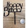 Happy birthday topper future black