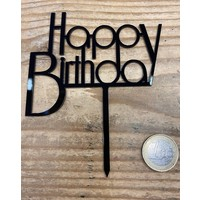 thumb-Happy birthday topper future black-1