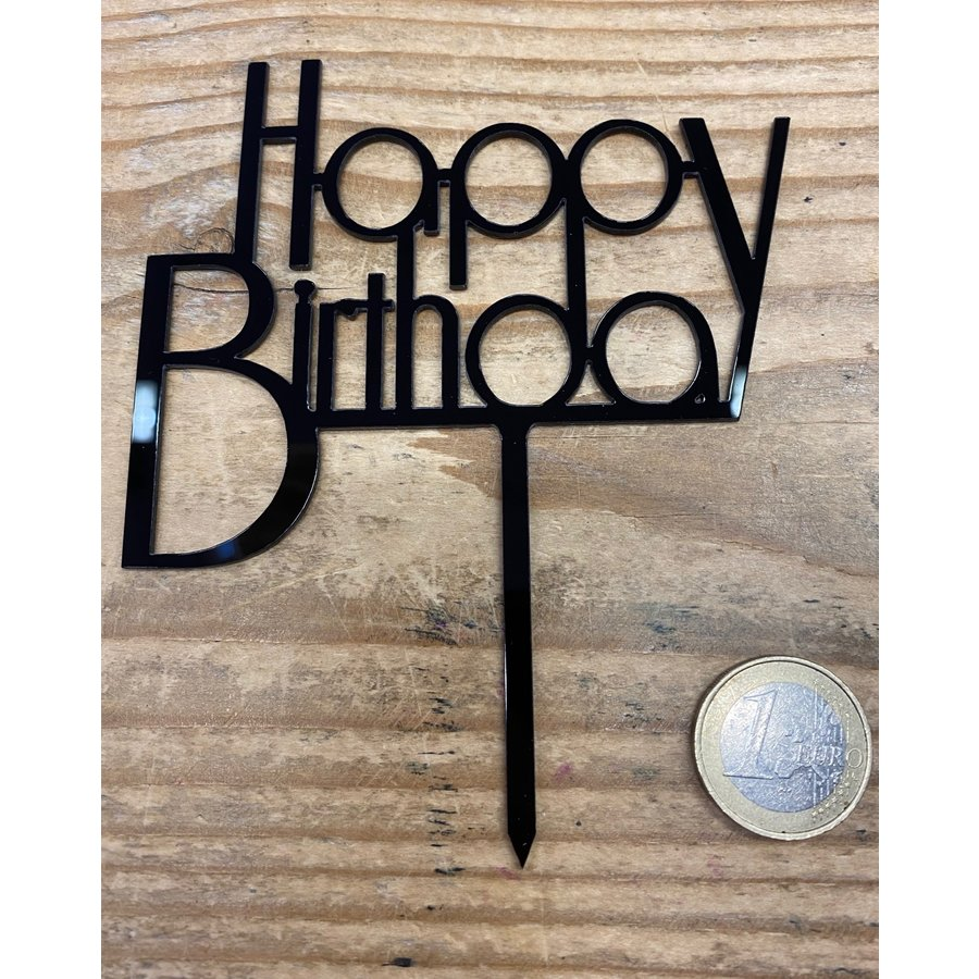 Happy birthday topper future black-1