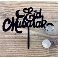 thumb-Eid Mubarak topper zwart-1