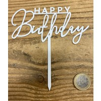 thumb-happy birthday topper streep wit-1