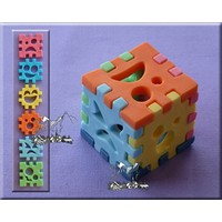 thumb-Alphabeth Moulds 3D cube set AM0137-2