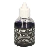 Sugarflair Airbrush Colouring -Black- 60ml