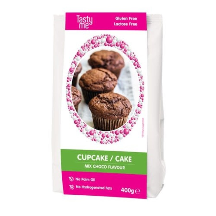 CHOCO CUPCAKE / CAKE MIX GLUTENVRIJ 400g-1