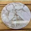 cakeboard extra stevig marble wit 20cm