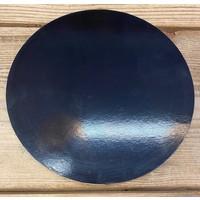 cakeboard extra stevig zwart 25cm