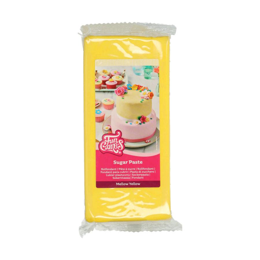 Rolfondant -Mellow Yellow geel- -1kg--1