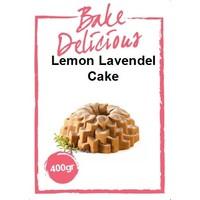 bake delicious Lemon Lavendel cake