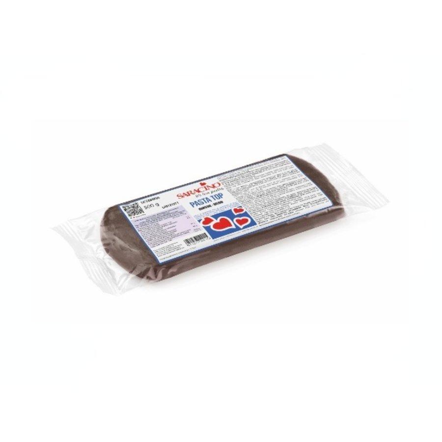 Saracino fondant brown bruin 500gr-1