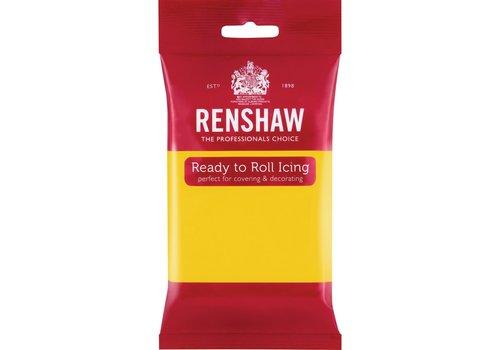 Renshaw Rolfondant Pro 250g - Yellow geel