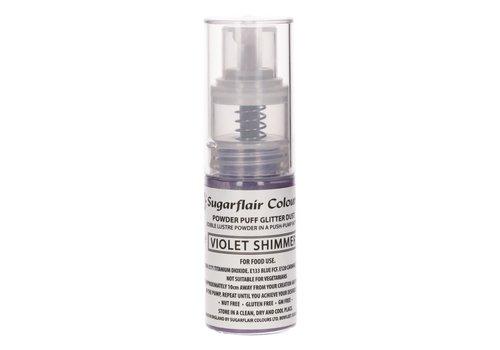Sugarflair Pump Spray Glitter Dust -Violet Shimmer-