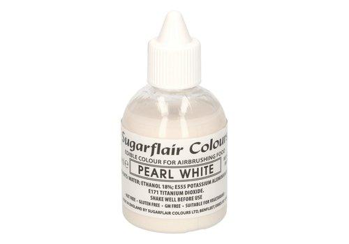 Sugarflair Airbrush Colouring -Glitter Pearl White- 60 ml