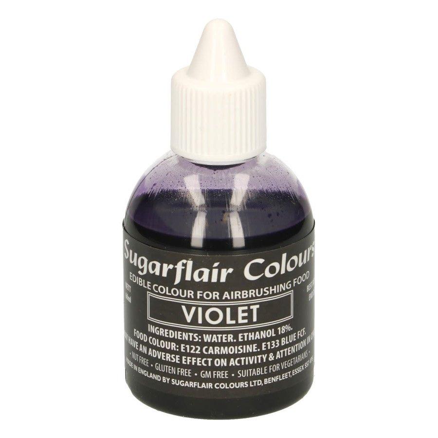 Sugarflair Airbrush Colouring -Violet- 60ml-1