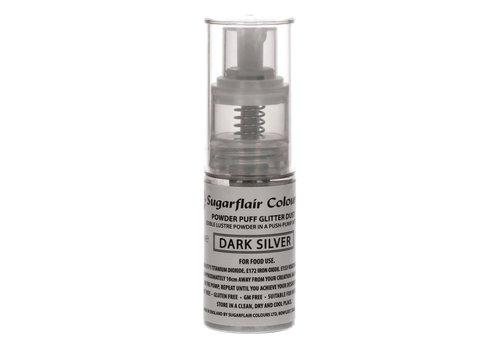 Sugarflair Pump Spray Glitter Dust -Dark Silver-