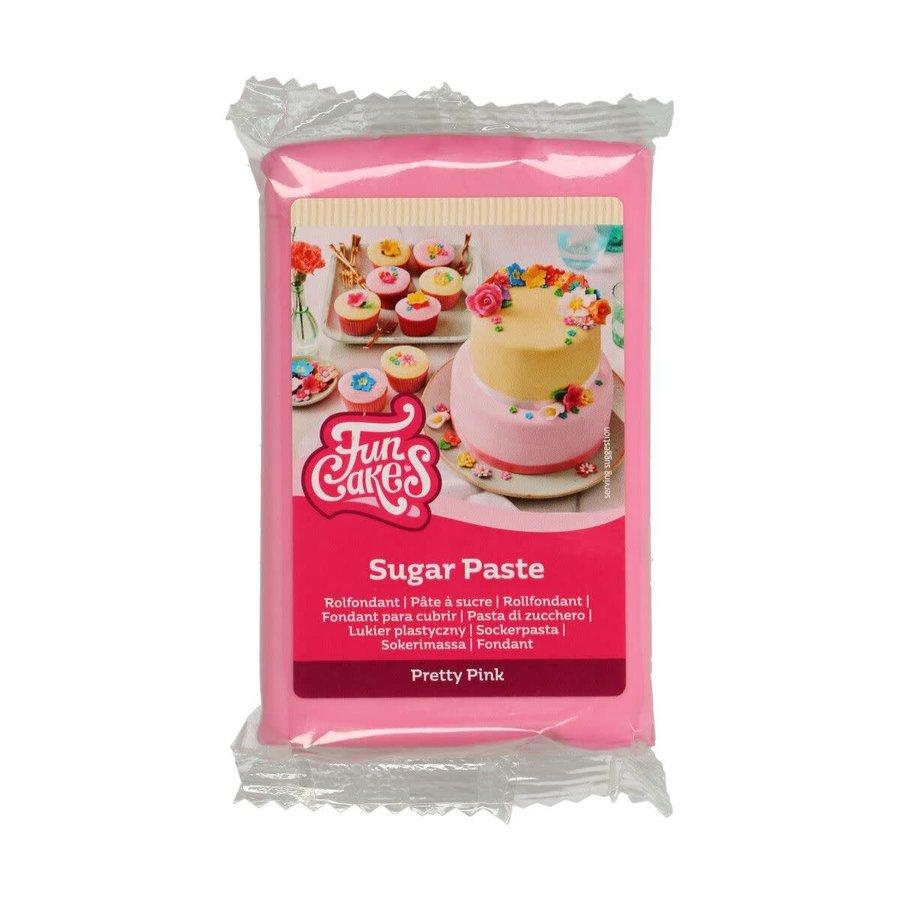 FunCakes Rolfondant -Pretty Pink- -250g--2
