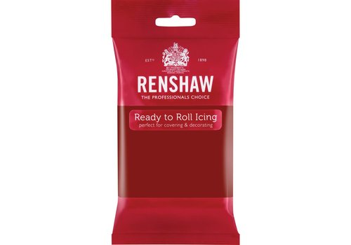 Renshaw Rolfondant Pro 250g - ruby red