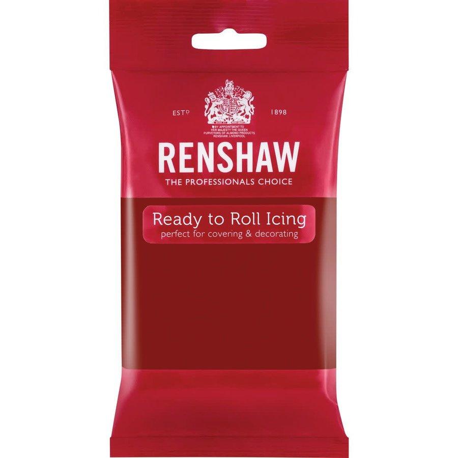 Renshaw Rolfondant Pro 250g - ruby red-1