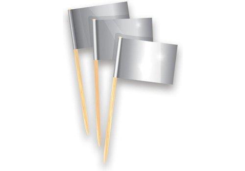 Prikkers zilver 50 stuks