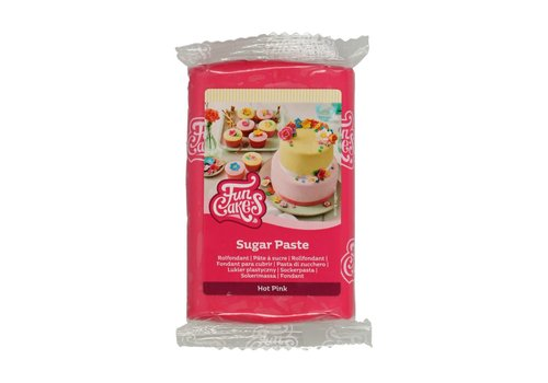Funcakes fondant hot pink 250gr