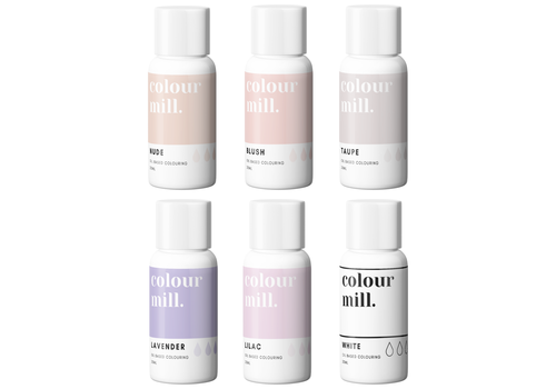 Colour Mill Nude pack 6st