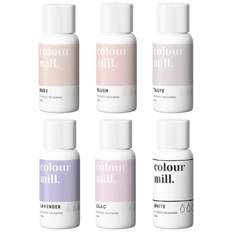 Colour Mill Nude pack 6st-1