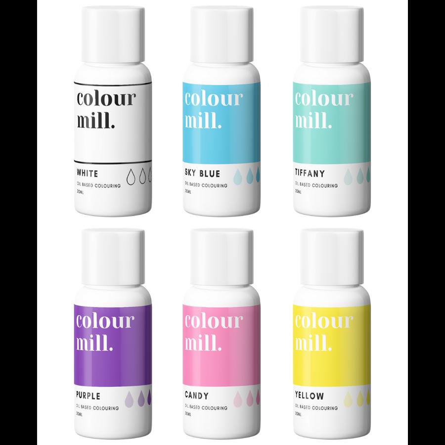 Colour Mill Rainbow pack 6st-1