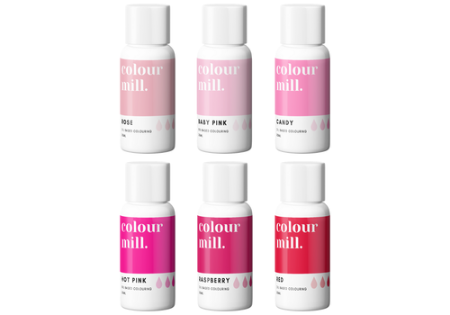 Colour Mill pink pack 6st