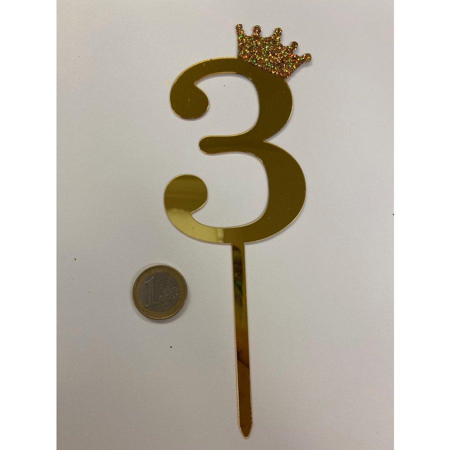 acryl prikker cijfer 3-1