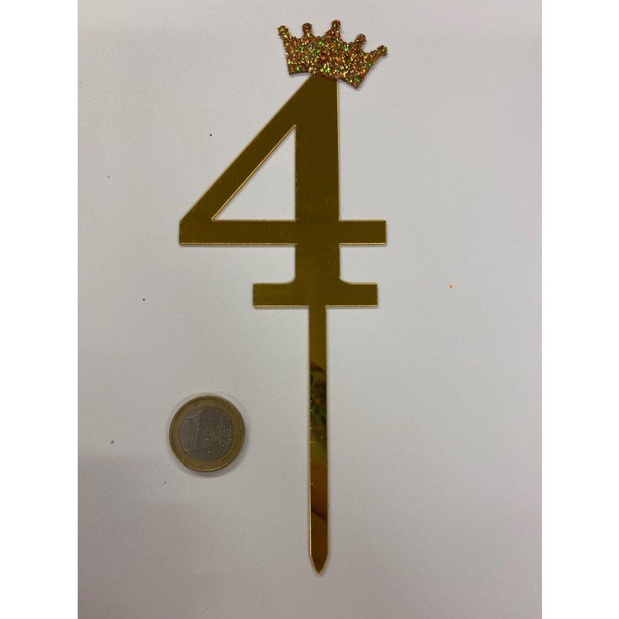 acryl prikker cijfer 4-3