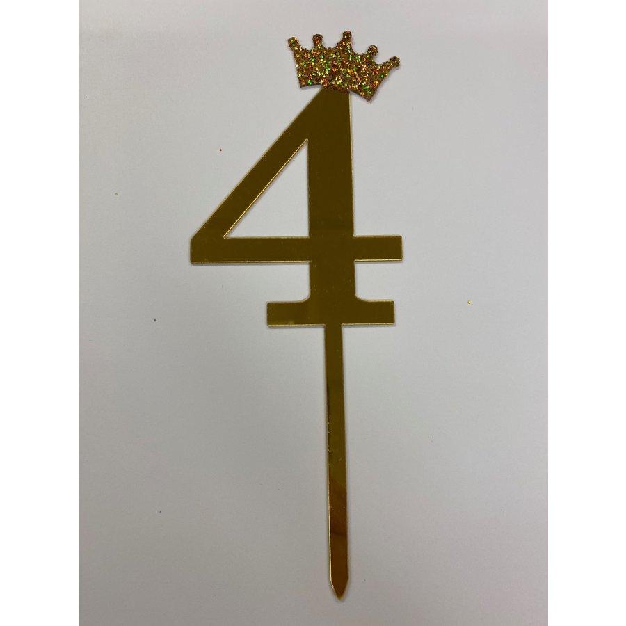 acryl prikker cijfer 4-4
