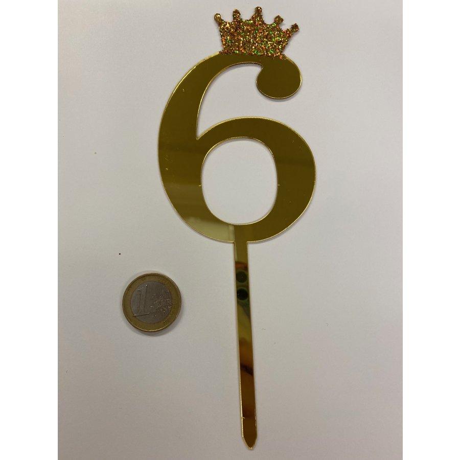 acryl prikker cijfer 6-1