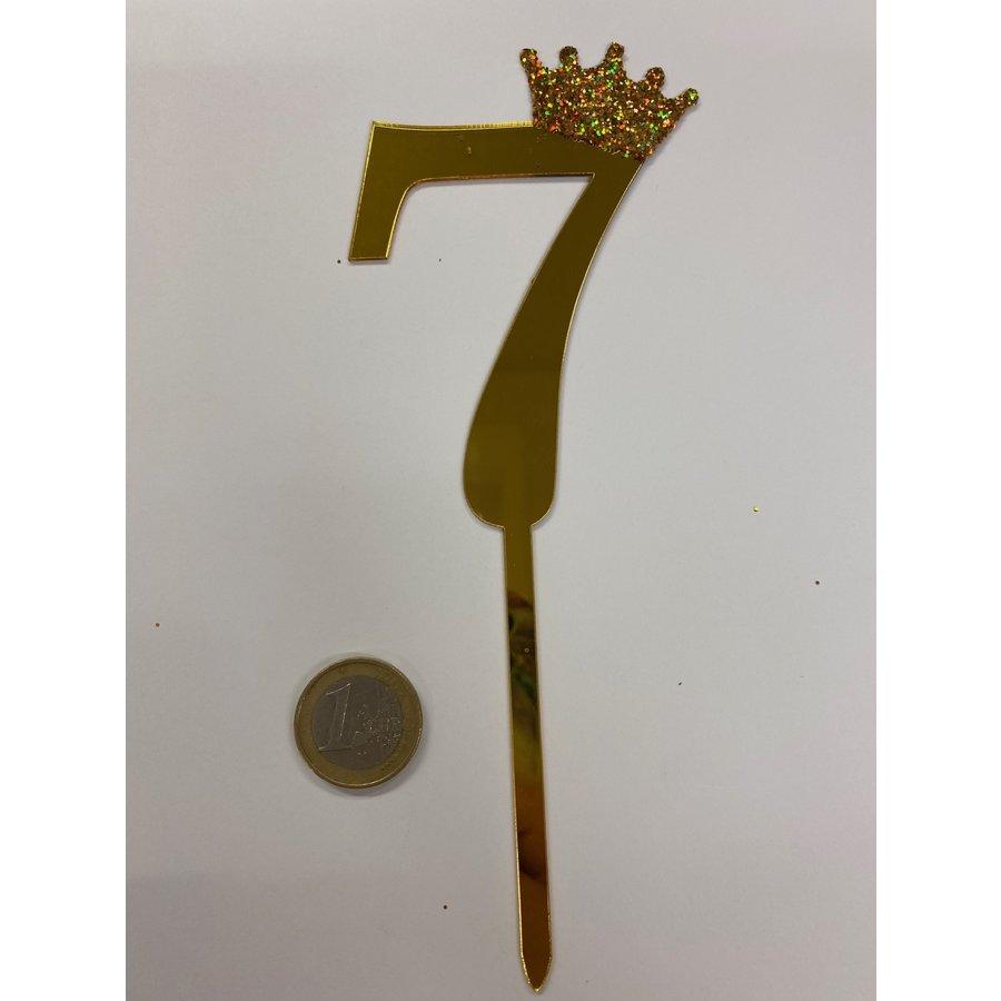 acryl prikker cijfer 7-3