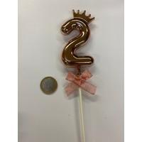 thumb-Cake topper ballon 2 roze-2