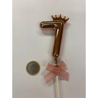thumb-Cake topper ballon 7 roze-2