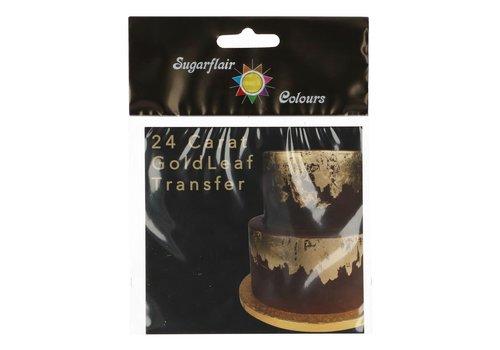 Sugarflair Eetbaar Blad goud 24 carat 1 sheet