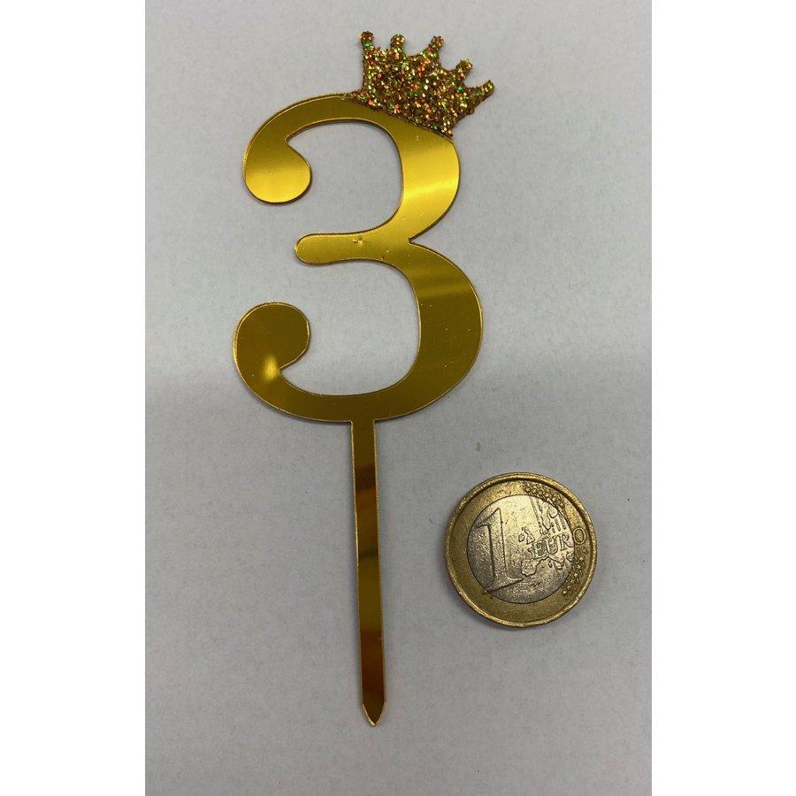 Acryl prikker #3 goud klein-2
