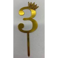 thumb-Acryl prikker #3 goud klein-1