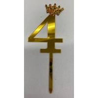 thumb-Acryl prikker #4 goud klein-1