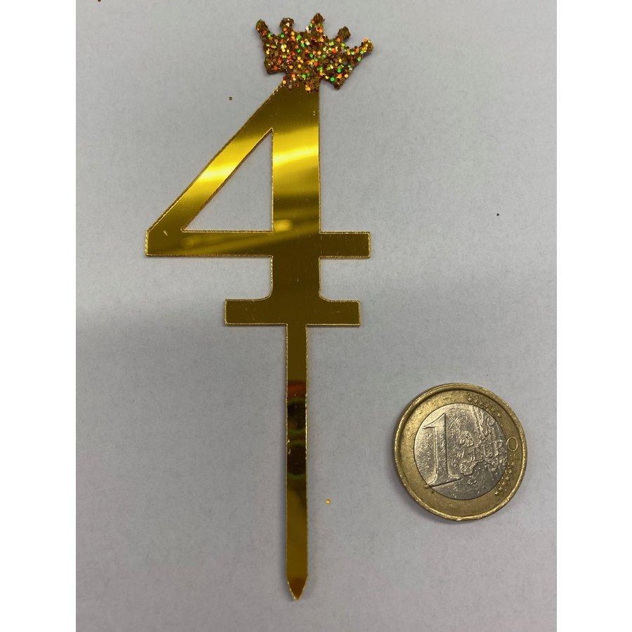 Acryl prikker #4 goud klein-2