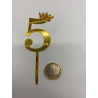 thumb-Acryl prikker #5 goud klein-2