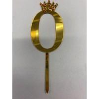 thumb-Acryl prikker #0 goud klein-1