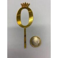 thumb-Acryl prikker #0 goud klein-2